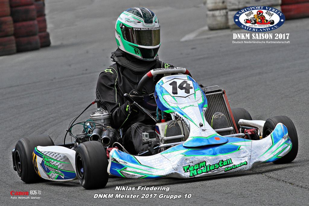 Klasse 10 - Niklas Friedring - KZ Schalter 125 ccm