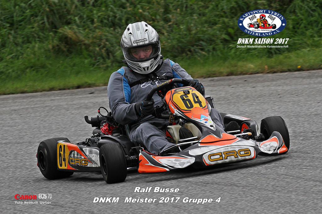 Klasse 4 - Ralf Busse - Rotax Max DD2 Senior 125ccm