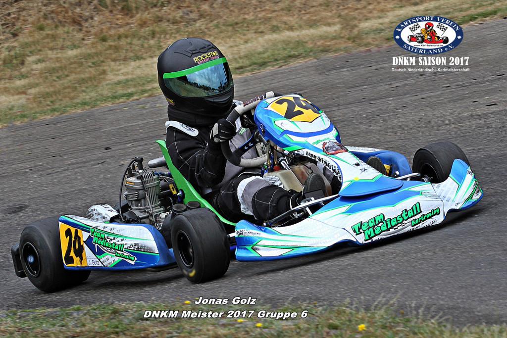 Klasse 6 - Jonas Golz - Iame X 30 Junior