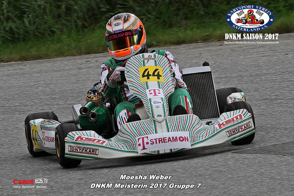 Klasse 7 - Moesha Weber - Vortex ROK GP Junior
